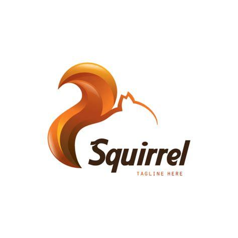 sold squirrel logo design logo cowboy
