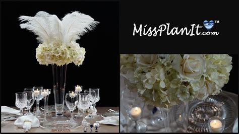 diy wedding centerpieces youtube diy roaring 20 s tall wedding centerpiece diy wedding