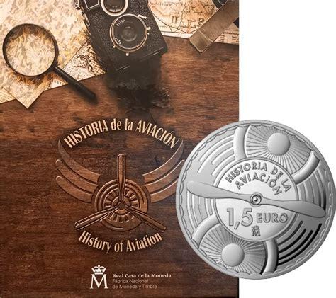 Kolekcijas albums Spānijas 1.5 euro monētu sērijai History ...