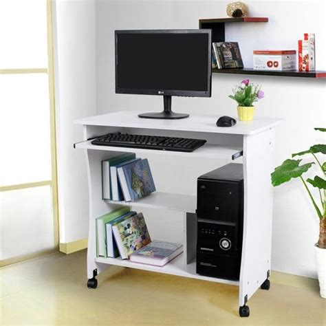 Computer Desk For Office Use by Computer Office Desk Table Movable Portable Trolley Study