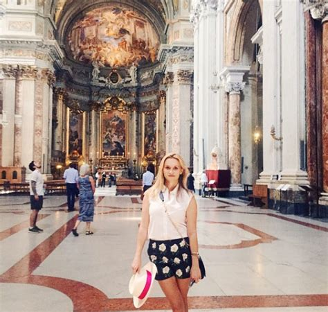 rome kanda instagram reese witherspoon holidays in italy photo