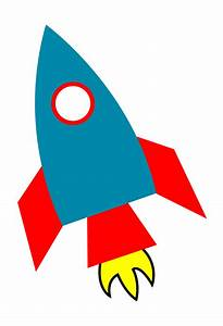 Spaceship clipart kid - Pencil and in color spaceship ...