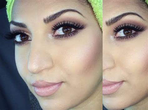 grwm hair  makeup   faced chocolate bar palette youtube