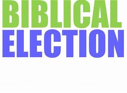 Election Biblical Transparent Guide Sample