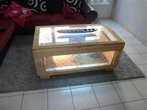 diy pallet table basse terrarium