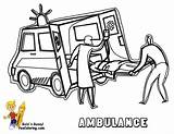 Coloring Ambulance Pages Paramedics Drawing Template Transportation Emergency Colouring Printable Sketch Police Vehicles Vehicle Service Fire Cars Yescoloring Getdrawings Templates sketch template
