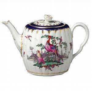 Paisley, Curtain, Teapots