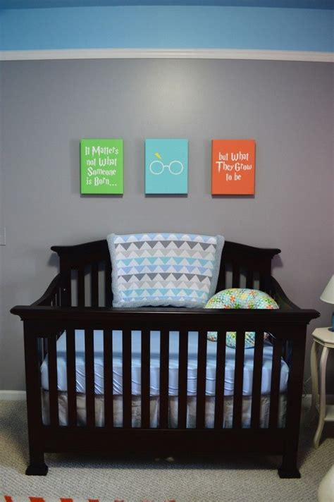 The best boy nursery ideas to create a stunning room including the best wall decor, bedding, unique themes you will love plus, how to create one of a kind accent wall. Colorful Nursery for Baby Boy Ryland | Baby room themes, Baby room colors, Vintage baby boy nursery