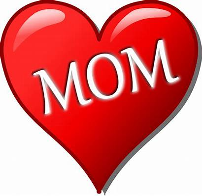 Clipart Heart Date Mothers Clip Mother Library