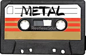 """Heavy metal Music band logo"" Stickers by RestlessSoul ..."
