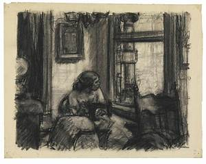 Hopper Drawing   Whitney Museum of American Art