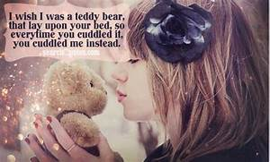 Cute Flirty Quo... Cute Bear Quotes