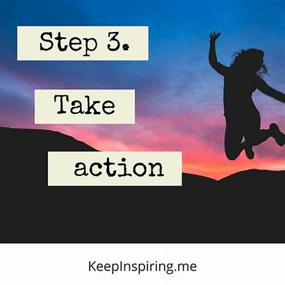 Meaning Inspiration Take Step Action