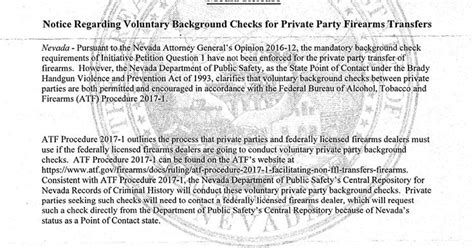 Dps Background Check Nevada Carry Dps Waives Certain Background Check Fees