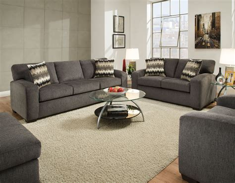 Living Room Sets Perth by Perth Pewter Sofa And Loveseat