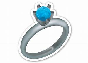 what your favorite emoji says about you purewow national With wedding ring emoji