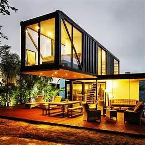 Container Haus Bauen : die besten 25 container h user ideen auf pinterest ~ Michelbontemps.com Haus und Dekorationen