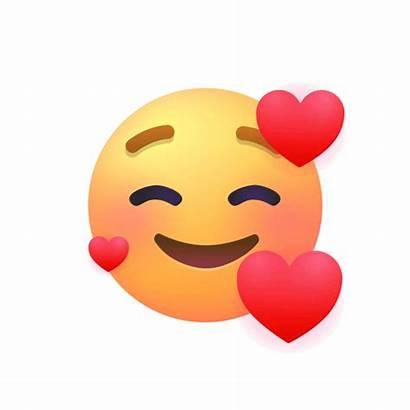 Emoji Hearts Face Smiling Moji