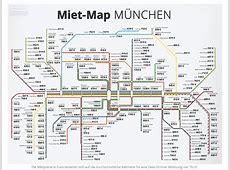 MietMap München UBahn Karte mit Münchner