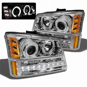2004 Chevy Avalanche Lights Chevy Avalanche 2003 2005 Clear Projector Headlights And