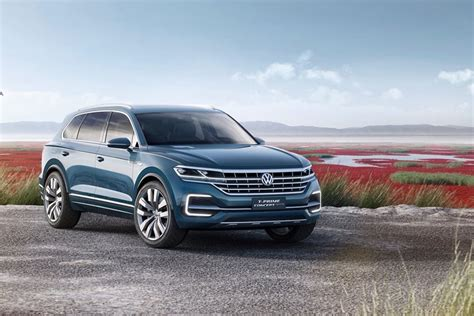 2019 Volkswagen Touareg Teased Ahead Of Debut Carbuzz