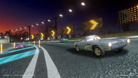 First Eyes On Cars 2 The Video Game