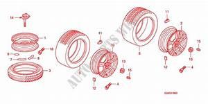 Tire  Wheel Disks For Honda Cars S2000 Base 2 Doors 6 Speed