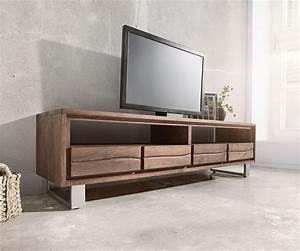 Lowboard Holz Dunkel
