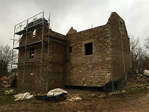 Construction En Pierre : maison en pierre lentillac du causse fabien paramelle ~ Premium-room.com Idées de Décoration