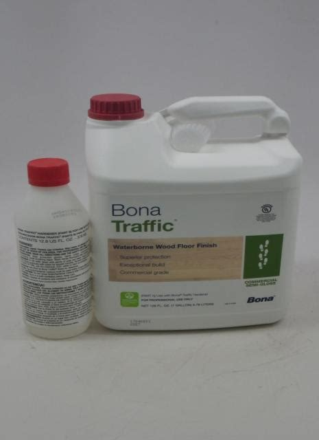 Bona Traffic Waterborne Wood Floor Finish Commercial Semi