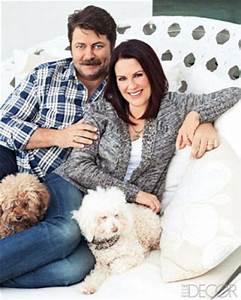Megan Mullally Nick Offerman House - Celebrity Home Decor