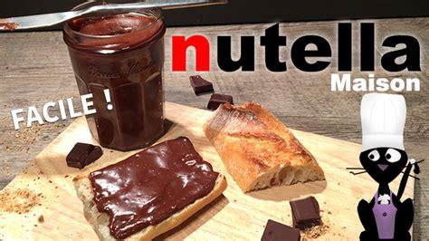 faire du nutella maison comment faire du nutella maison recette facile
