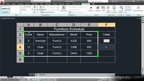 editing table cells   formulas