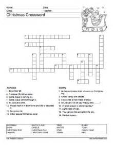 Crossword Puzzles with Word Bank