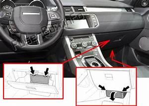 Fuse Box Diagram Land Rover Range Rover Evoque  2012