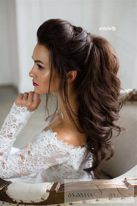20 ideas of brides long hairstyles