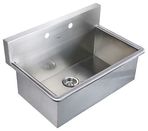 Stainless Steel Utility Sink Drop In by Noah S Collection Brushed Stainless Steel Commercial Drop