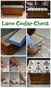 How To Recover A Lane Cedar Chest For An Easy Update