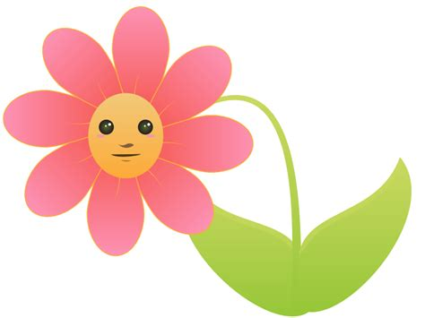 Cute Cartoon Pictures Of Flowers