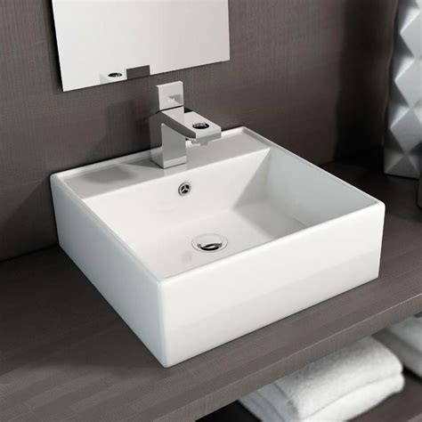 pack meuble terra blanc  cm vasque robinet miroir