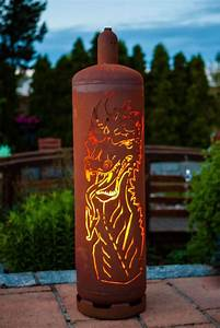 Feuerstelle Aus Gasflaschen : edelrost feuers ule gasflasche drache ebay ~ A.2002-acura-tl-radio.info Haus und Dekorationen