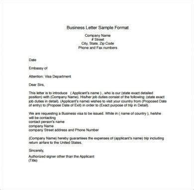 official correspondence letter examples  examples