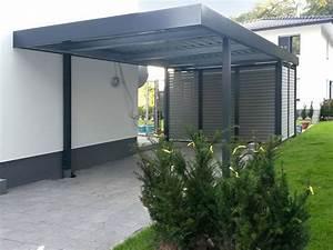 Moderne Carports Mit Glasdach : einzelcarports carceffo moderne carports garagen ~ Markanthonyermac.com Haus und Dekorationen