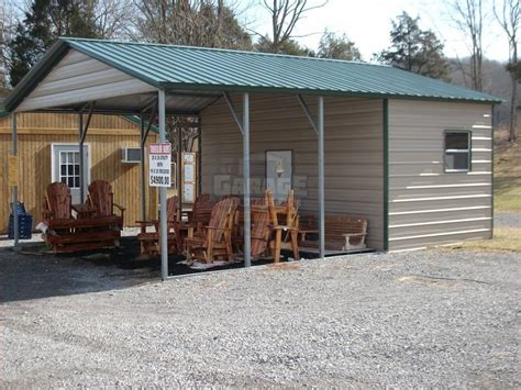 Carport With Storage Shed by Carport Garage Combo Combo Metal Buildings At Affordable