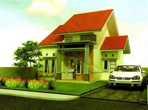 kombinasi warna cat rumah hijau  rumah minimalis