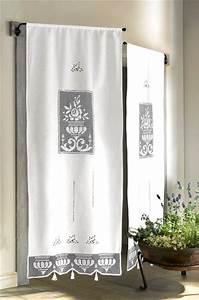 Tür Mit Fenster Zum öffnen : 1 st t r fenster store gardine 80 x 160 wei richelieu stickerei landhaus neu ebay ~ Frokenaadalensverden.com Haus und Dekorationen