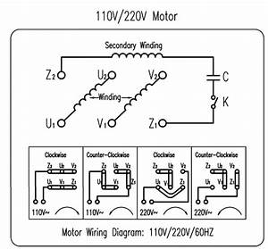I Am Trying To Wire A 110 Volt Ac Motor To A Forward
