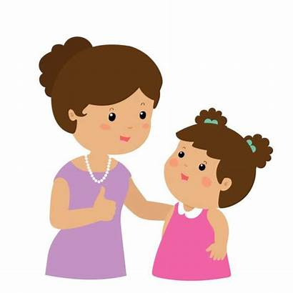 Encouraging Child Clipart Mom Parent Cheering Mother