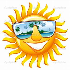 Smiling Sun With Sunglasses   Clipart Panda - Free Clipart ...