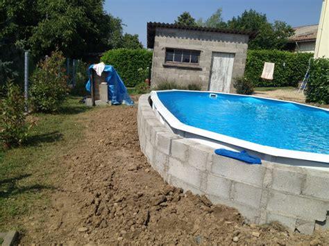 piscine hors sol acier enterree id 233 e piscine hors sol semi enterr 233 e acier